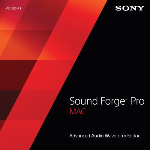 Sony Sound Forge Pro Mac 2 [Download] by Sony