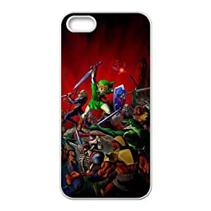 iPhone 5 5s Cell Phone Case White the legend of zelda Popular games image WOK1022638