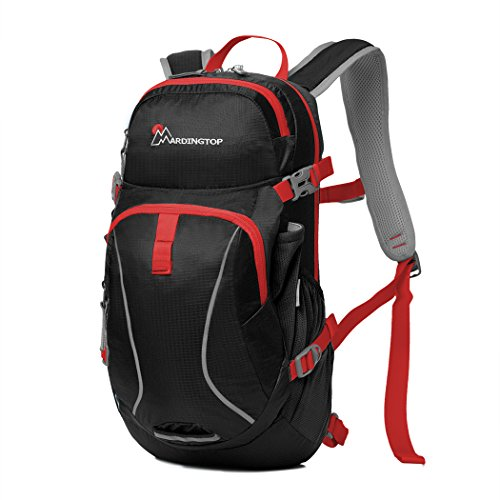Mardingtop Hydration Pack Running Backpack Cycling Backpack for Hiking Cycling Running Biking (Black1)