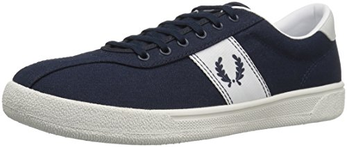 FRED PERRY - Baskets basses - Homme - Sneakers Tennis 1 Canvas Bleu Marine pour homme