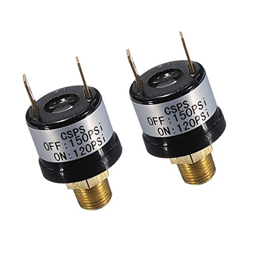 Amazon.com: Baoblaze 2 Pieces 12V 120-150PSI Pressure Switch for High Pressure Onboard Air Systems Horn Compressor: Automotive