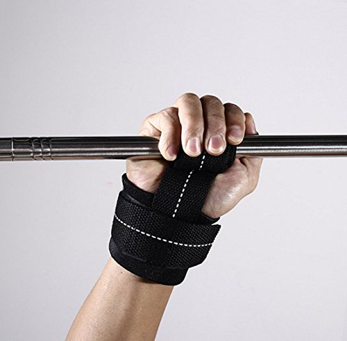 HTWY Sports Protective Gear Snatch Wrist Winding Pressure Horizontal Dumbbell Barbell Athlete Wrist Guard by HTWY