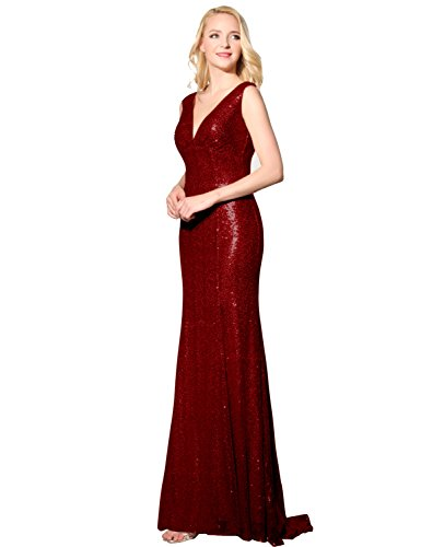 Sarahbridal Long Evening Dresses for Women UK Sequins Prom Dress Wedding  Ball Party Dresses Ladies Bridesmaid Gowns SSD351 - Buy Online in UAE. 300e7eec5