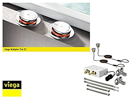 Viega Multiplex Trio E3 de llenado electrónicos mischein Heitronic bañera 682972