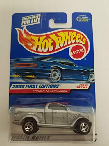 Dodge Power Wagon First Editions 2000 First Editions 25 of 36 Hot Wheels