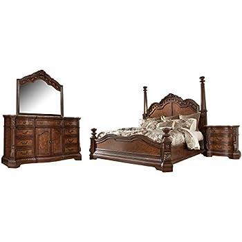 Amazon Com Signature Design By Ashley Ledelle Bedroom Set