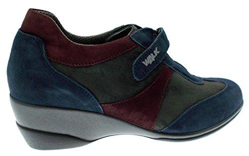 art R0364 blu multicolor grigio bordeaux zeppa