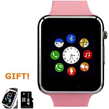 Amazon.com: Smart Watch, Smartwatch Phone with SD Card ...