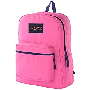 Jansport Overexposed Fluorescent Pink/Violet Purple T08W0CS