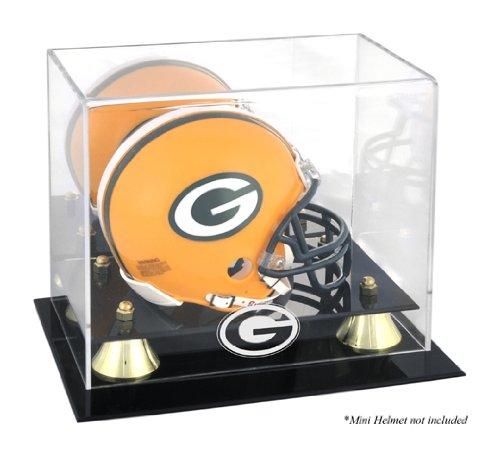 Mounted Memories Green Bay Packers Mini Helmet Display Case ()