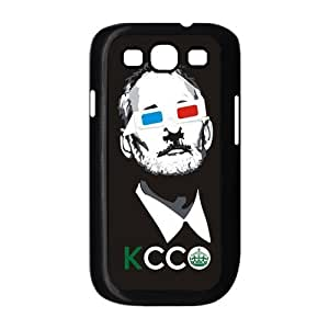 Keep Calm Bill Murray Protective Plastic Black White For Case Iphone 5/5S Cover