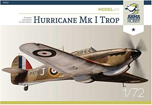 Arma Hobby 1//72 Hawker Hurricane Mk.I Junior Set # 70020