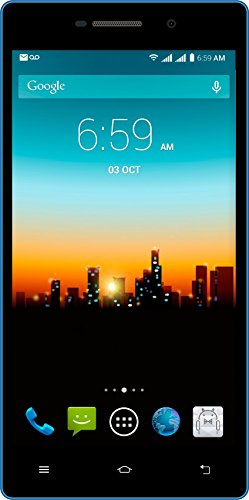 """POSH MOBILE KICK ANDROID GSM UNLOCKED DUAL SIM 5.0"""" SMARTPHONE with unique colorful design, FULL-sized display, 5MP Camera and 8GB of Storage. 1 Year warranty. (Model#: X511 BLUE)"""