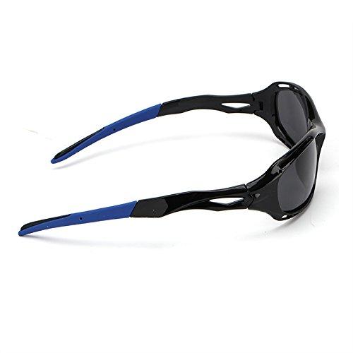 Soleil Hommes Vintage Magnésium Polarisé Accessoires Aluminium de Hommes Nuances Lentille Conduite Lunettes Lunettes Lunettes de Soleil Shangougu Blue Black zOaxdq1wz