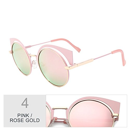Polarizadas Mujeres Sol Sol Para TIANLIANG04 De Gafas Pistola Rose Reflejo Pink Uv400 Gafas Anti Gold De Silver qzzFxEIAnv