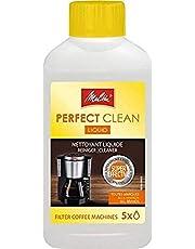 Melitta Perfect Clean Liquid voor filterkoffiezetapparaten, 250 ml, natuurlijke vloeistof, transparante kunststof fles, art. Nee 6767001, niet van toepassing