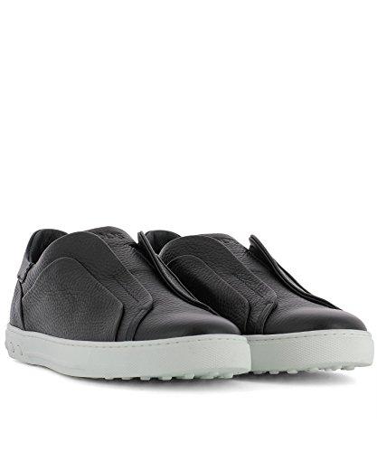 Tods Slip On Sneakers Uomo XXM0XY0T200NLKU801 Pelle Nero