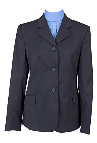 Devon Aire Ladies Nouvelle Stretch Show Coat, Navy, 18