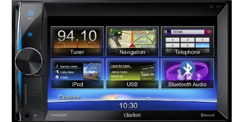 CLARION NX302E 2-DIN Multimedia-Navigation
