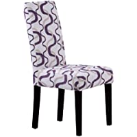Monsoon Pacific Villa Fabric Dining Chairs, Berry Print, Set of 2