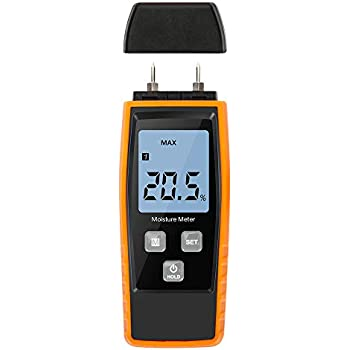 Tacklife Wood Moisture Meter Wm01 Lcd Digital Damp Meter