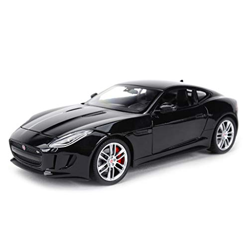 (SXET-Model car Model Car Alloy Model Car Collection Model 1:24 Jaguar F-Type Coupe Sports Car Model Toy Car Model (Color : Black))