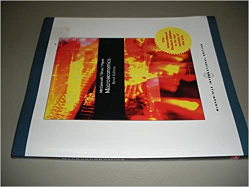 Macroeconomics Campbell R McConnell 9780070183285 Amazon