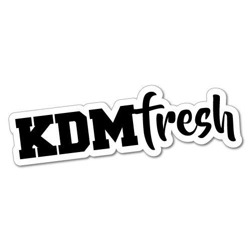 Decal Fresh (KDM Fresh Car Sticker for Korean Kia Hyundai Decal Vinyl For Hyundai Kia)