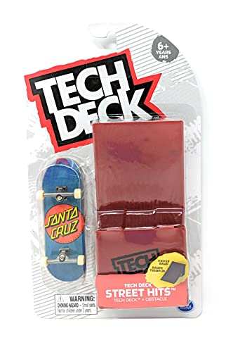 기술 데크 스트리트 히 2021 시리즈 산타 크루즈 스케이트보드 클래식 점 블루 완벽한 지판과 커 진입 장애물