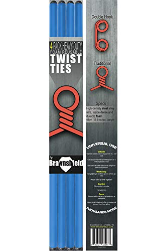 4 Pack Twist Cable Ties - 17