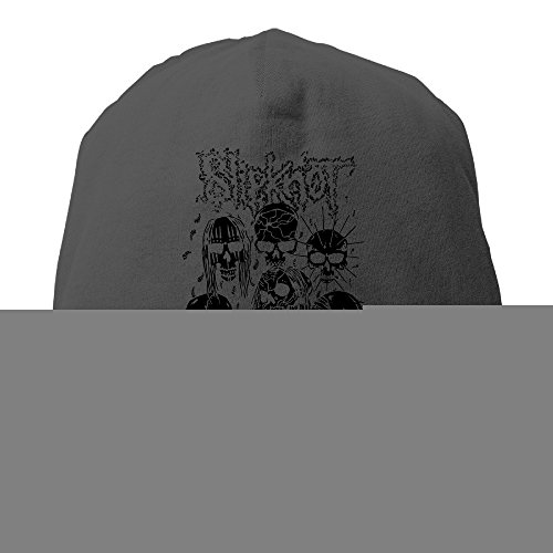 YUVIA Slipknot Men's&Women's Patch Beanie Hip-HopBlack Caps For Autumn And Winter (Adam Levine Halloween Party)