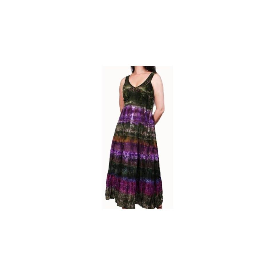 Womens Full Length Tank Dress Case Pack 6
