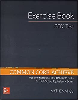 Book Common Core Achieve, GED Exercise Book Mathematics (BASICS & ACHIEVE) by Contemporary (2014-03-04)