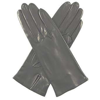 Fratelli Orsini Women's Italian Silk Lined Leather Gloves Size 6 Color Black
