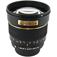Rokinon 85M-N 85mm F1.4 Aspherical Fixed Lens for Nikon (Black) (Discontinued by Manufacturer) Noticeable Review Image