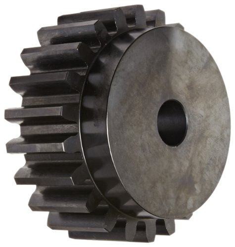 Martin S422 Spur Gear, 14.5° Pressure Angle, High Carbon Steel, Inch, 4 Pitch, 1-1/8