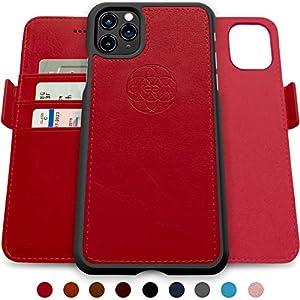 dreem Fibonacci Coque iPhone 11 Pro Max Magnetique Antichoc | Etui Portefeuille 2-en-1 avec Stand Amovible 2 Positions…