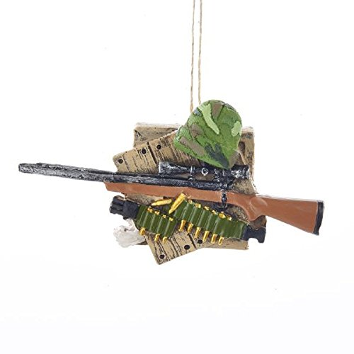 Kurt Adler Binoculars and Shotgun Outdoor Ornament (Shotgun Binoculars)