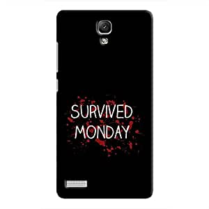 Cover It Up - Monday Survivor Redmi Note 4G Hard Case