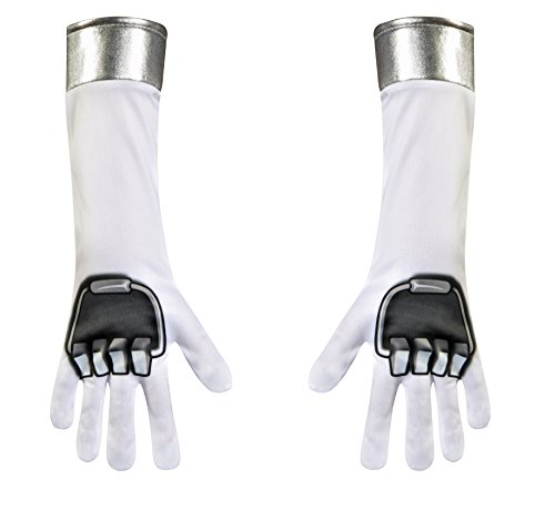 [Disguise Power Ranger Dino Charge Child Gloves Costume] (Dino Ranger Costume)