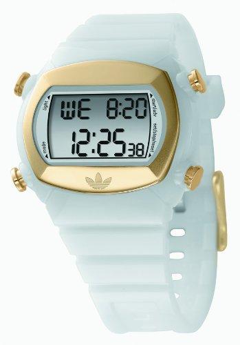adidas Originals - Reloj digital de cuarzo para hombre con correa de acero inoxidable, color plateado: Adidas: Amazon.es: Relojes
