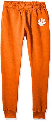 NCAA Clemson Tigers Men's Banded Bottom Jogger, X-Large, Orange - Tigers Mens Pants