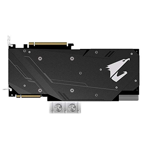 GIGABYTE 2080 Xtreme 8G 1.4 HDMI USB with Water Block Cooling Graphic Cards- GV-N2080AORUS X WB-8GC
