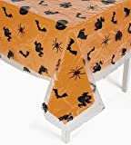 "Halloween Plastic Table Cover 54"" x 108"""
