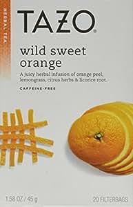 Tazo Tea Herbal Wild Sweet Orange Tea (Pack of 3)