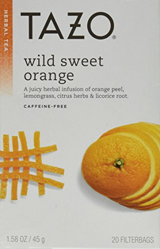 Tazo Tea Herbal Wild Sweet Orange Tea (Pack of 3) -