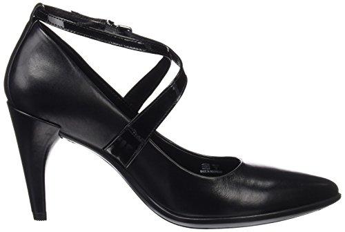 Black Pointy 75 Black Noir Escarpins Shape Ecco Femme xwEHYAxq