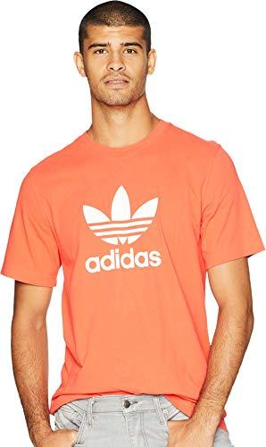adidas Originals Mens Trefoil Tee, Bright red, XL
