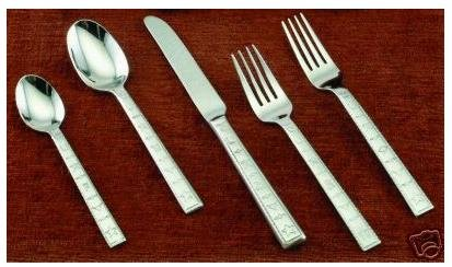 Western Brands Stainless Flatware, 20 Piece Set