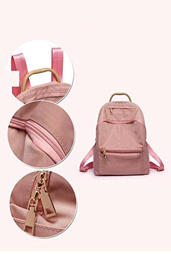 del irrompible Mochila bolso impermeable mochila la agua de nylon plisada prueba ligero del Purple de mujeres madre las portátil de a hombro hombro del de ZpgqZrw